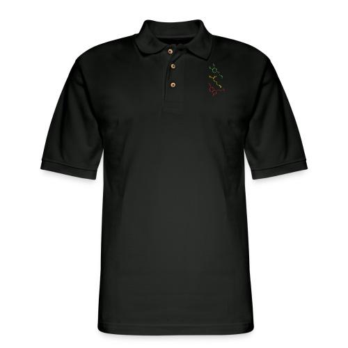 Psychoactive Molecules Tripsit Tshirt - Men's Pique Polo Shirt