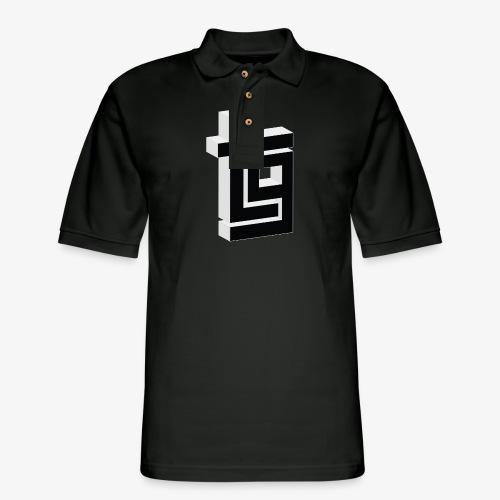 ThrillGeek TG Logo Shirt - Men's Pique Polo Shirt