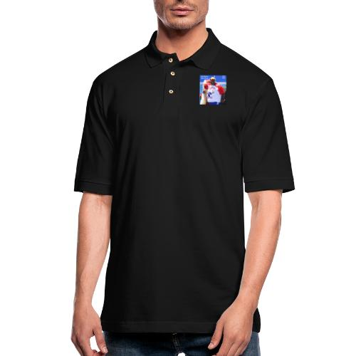 MLE Badlands Booker Icon - Men's Pique Polo Shirt