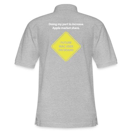 macuseronboard - Men's Pique Polo Shirt