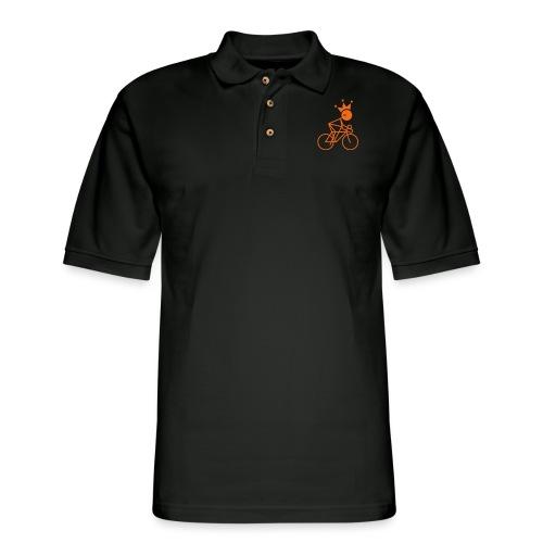 Winky Cycling King - Men's Pique Polo Shirt