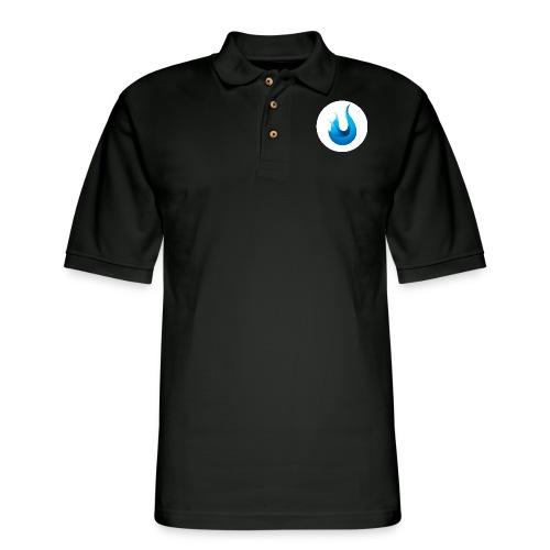 flame front png - Men's Pique Polo Shirt