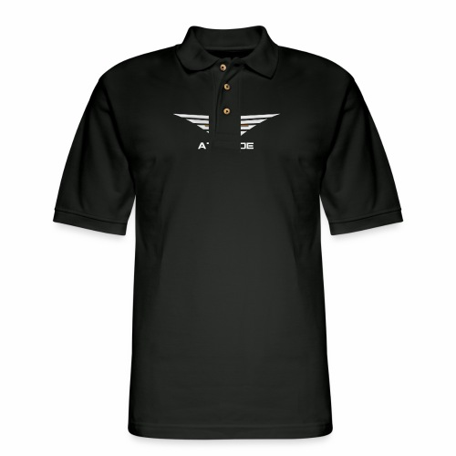 Attitude Double Sided - Men's Pique Polo Shirt