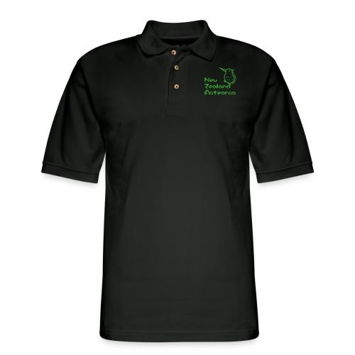 New Zealand Aotearoa - Men's Pique Polo Shirt