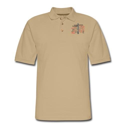 Names of God - Men's Pique Polo Shirt