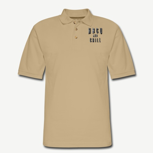 HBCU and Chill - Men's Pique Polo Shirt