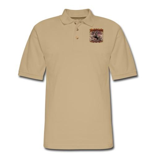 Homeland Security by RollinLow - Men's Pique Polo Shirt