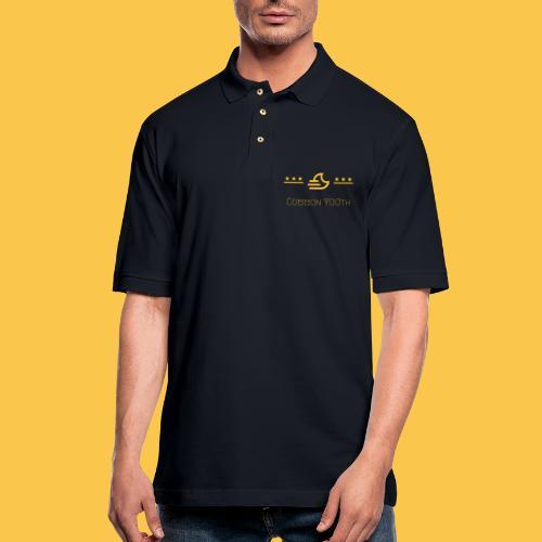 CommonYOUth - Men's Pique Polo Shirt