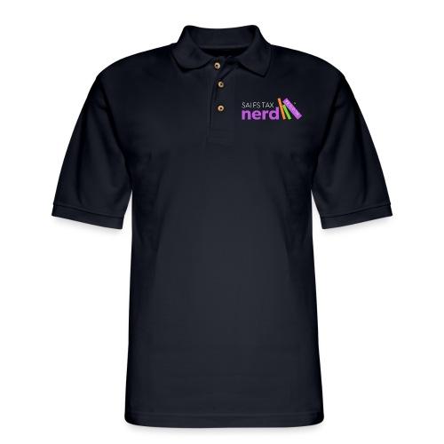 Sales Tax Nerd - Men's Pique Polo Shirt