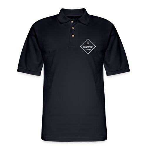 Loi 101 - Men's Pique Polo Shirt
