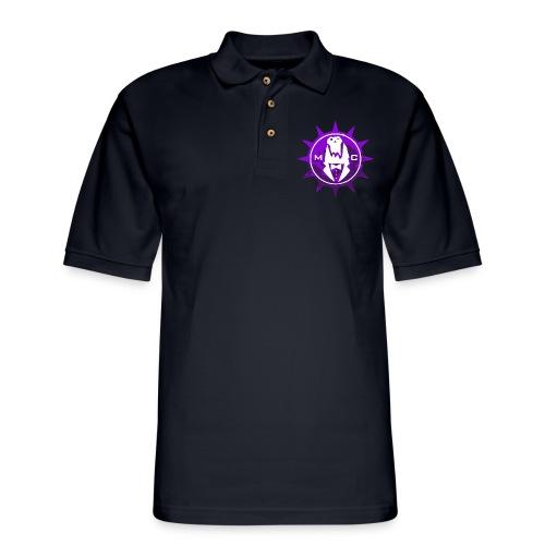 Vector MC Logo 2 colors V2 - Men's Pique Polo Shirt