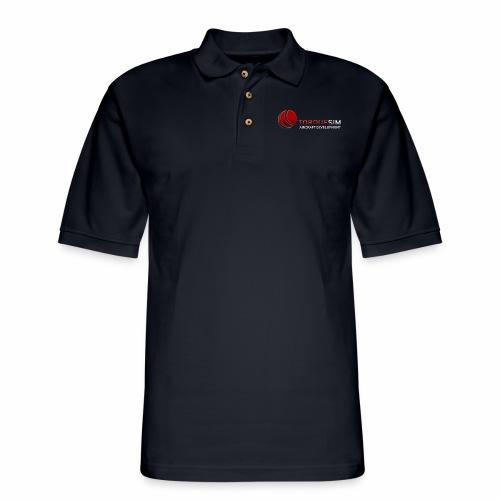 TorqueSim full - Men's Pique Polo Shirt