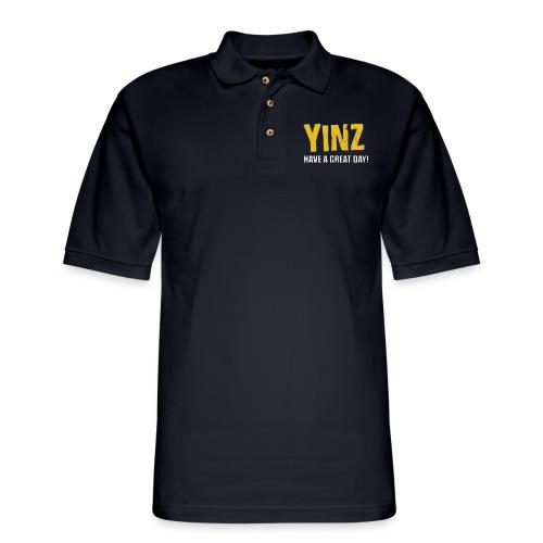 Yinzer Club Pocast - Men's Pique Polo Shirt