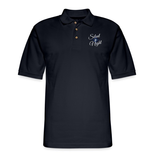 Silent Night - Men's Pique Polo Shirt