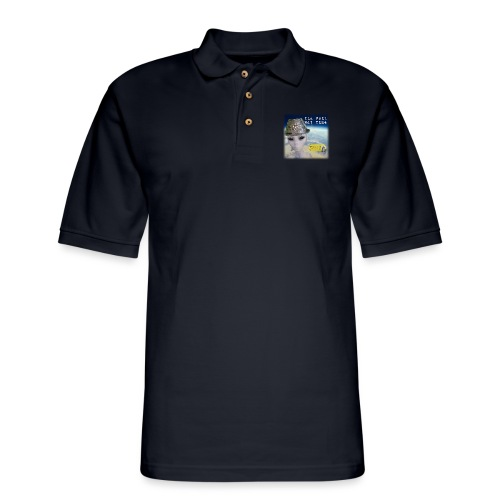 Tin Foil Hat Time (Earth) - Men's Pique Polo Shirt