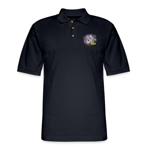 Tin Foil Hat Time (Space) - Men's Pique Polo Shirt