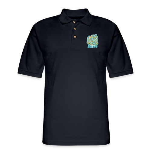 Let's see how to preserve the splendor of the sea - Men's Pique Polo Shirt