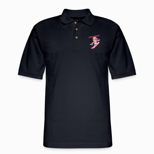 saskhoodz girl - Men's Pique Polo Shirt