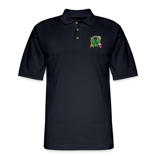Field Day Games for SCHOOL - Men's Pique Polo Shirt