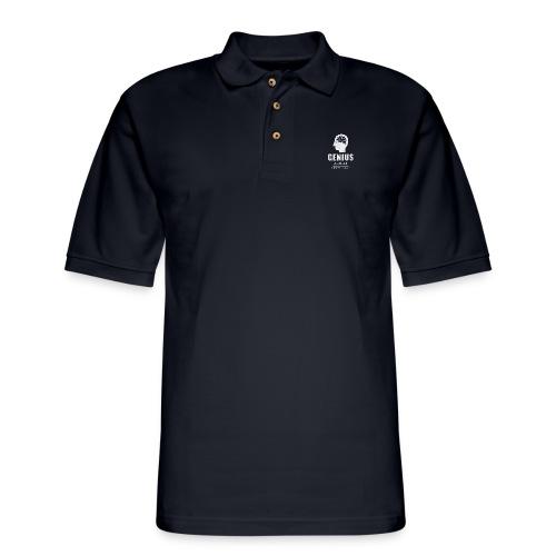 Genius, admire, 100% brain - Men's Pique Polo Shirt