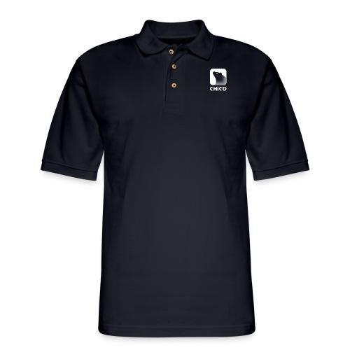 Chico's Logo with Name - Men's Pique Polo Shirt