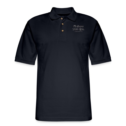 Warcraft baby I'll Show You DPS Diapers-per-Second - Men's Pique Polo Shirt