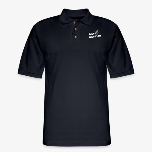 No turbo no fun - Men's Pique Polo Shirt