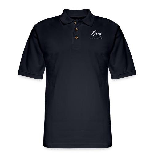 Karma - Men's Pique Polo Shirt