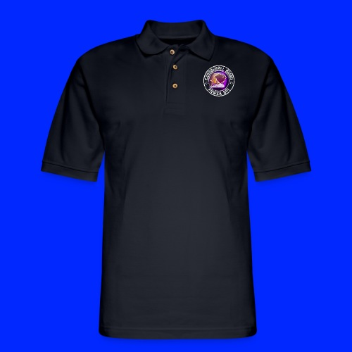Vintage Stampede Power-Up Tee - Men's Pique Polo Shirt