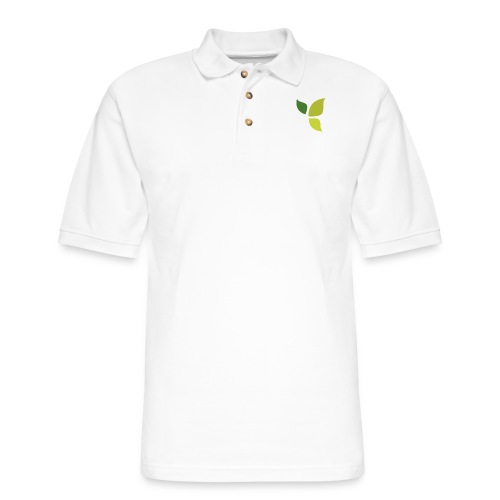 Dom Gooden Leaf Logo - Men's Pique Polo Shirt