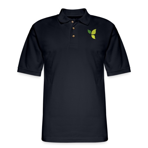 Dom Gooden Leaf Logo - Men's Pique Polo Shirt