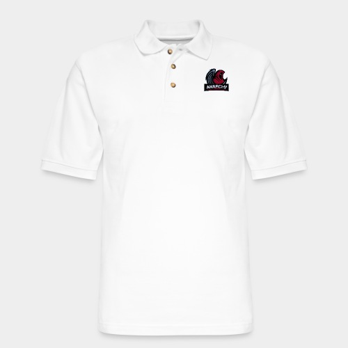 Official LoA Logo - Men's Pique Polo Shirt