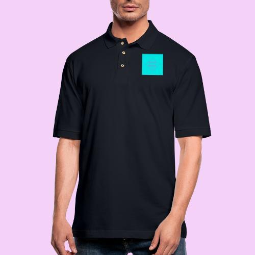 Destined Equestrian Logo - Men's Pique Polo Shirt