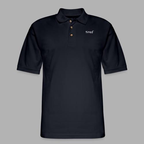 Tired TM - Men's Pique Polo Shirt