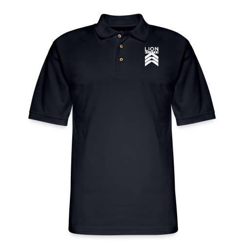 Lion Killers Front Logo - Dark Range - Men's Pique Polo Shirt