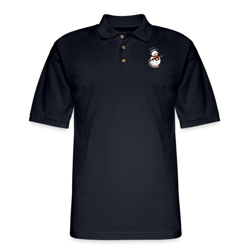PRODBYSNOWMAN - Men's Pique Polo Shirt