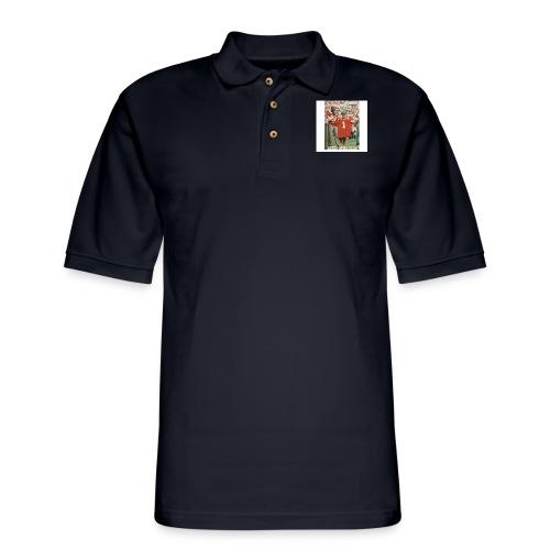 NANCY JUST SAY NO - Men's Pique Polo Shirt