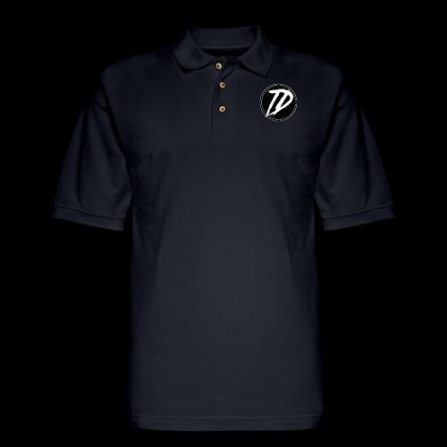 Team DEBUG Logo - Men's Pique Polo Shirt