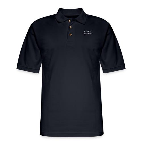 Full Send or No Send - Men's Pique Polo Shirt