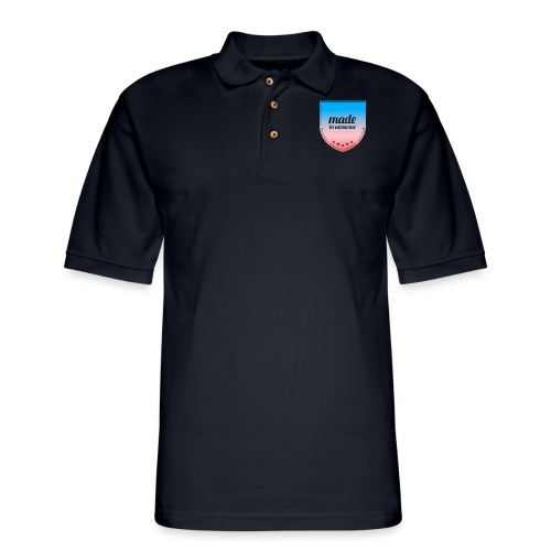 Made in Awesome - Men's Pique Polo Shirt
