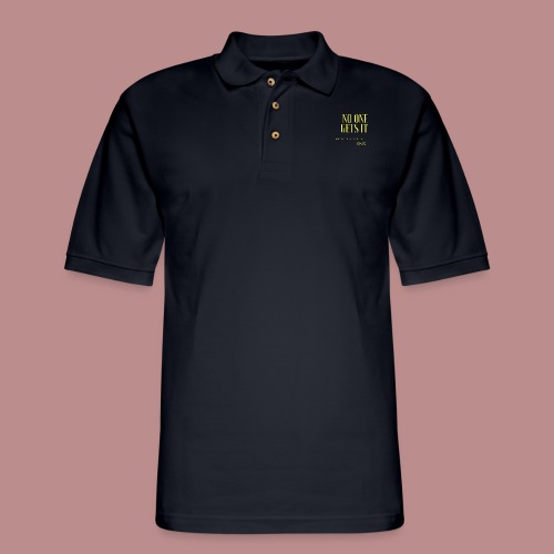 Endo - No one gets it - Men's Pique Polo Shirt