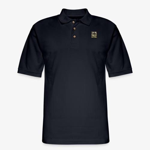 Your Life Matters - Men's Pique Polo Shirt