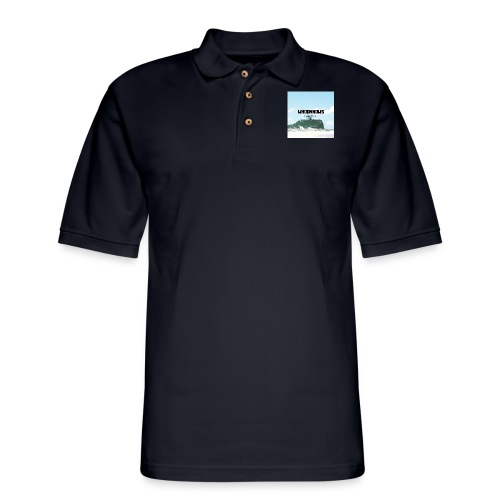 I M ALLERGIC TO WHOOKNOWS copy - Men's Pique Polo Shirt