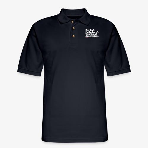 CIVIL WAR BATTLES - Men's Pique Polo Shirt