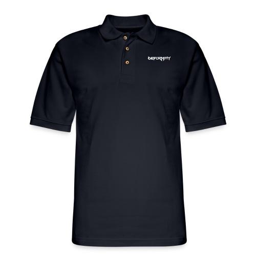 Deformaty Logo - Men's Pique Polo Shirt