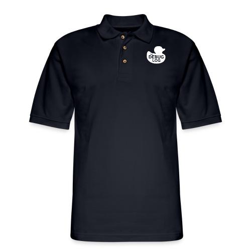 Classic Duck Logo - Men's Pique Polo Shirt