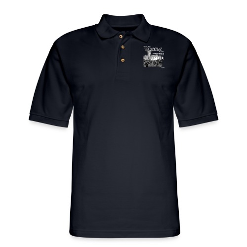 Even the Angels know. We don't bow but to GOD.... - Men's Pique Polo Shirt