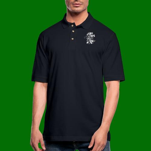 Sick Boys Puke Punk - Men's Pique Polo Shirt