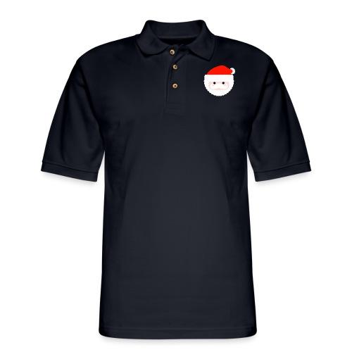 santa - Men's Pique Polo Shirt