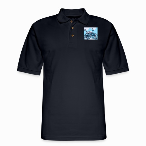 Miata Art - Men's Pique Polo Shirt